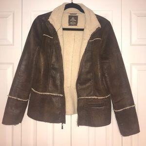 Prana womens Sherpa lined jacket